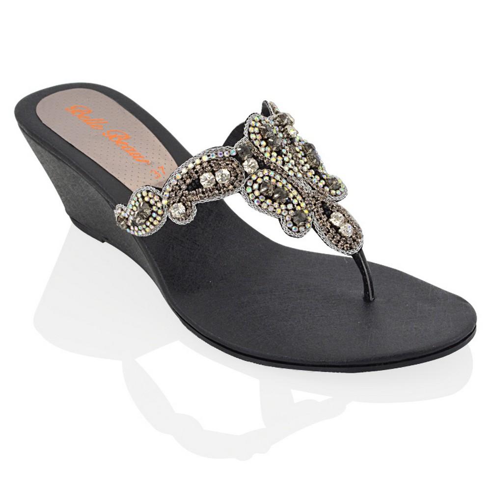 Silver flat sandals dressy