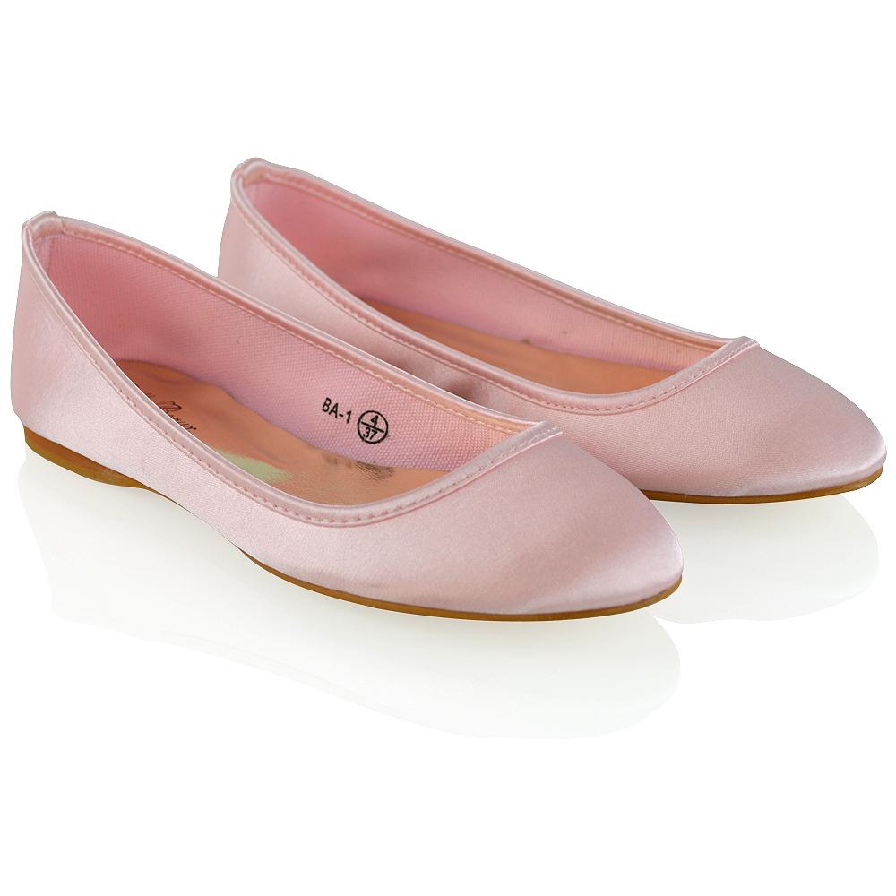 mujer Zapatos De Novia FLOR RASO Chicas Damas Boda Graduación ...