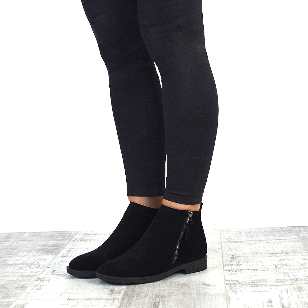 flat ankle boots with leggings wwwimgkidcom the