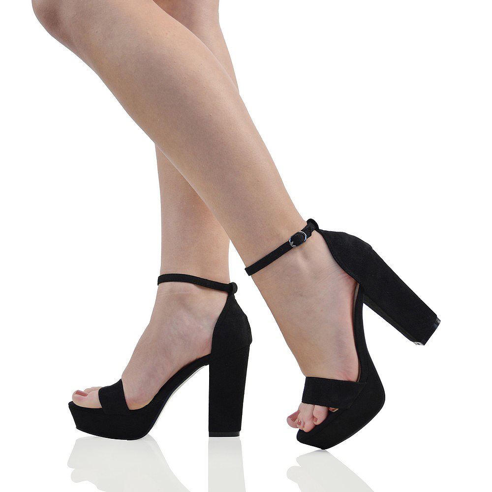 Block Heel Bridal Shoes Platform