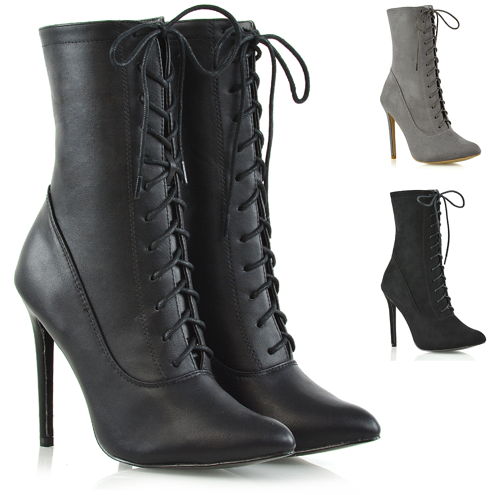 Laced Shoe Boots Uk